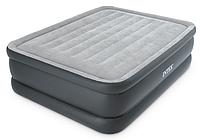 Надувная кровать матрас 64140 Intex (203x152x51см) со встроенным насосом, фото 1