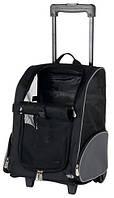 Сумка-рюкзак Trixie T-Bag Trolley на колесах для кошек, 36х50х27 см, фото 1
