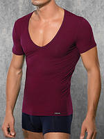 Мужская футболка Doreanse City 2820 бордовый