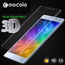 Защитное стекло Mocolo 3D 9H на весь экран для Xiaomi Mi Note 2 прозрачный
