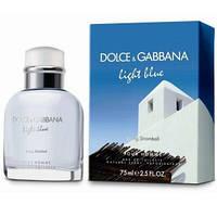 """Мужская парфюмерия Dolce Gabbana """"Light Blue Living Stromboli"""" 125 мл туалетная вода туалетная водаl туалетная вода"""