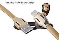 USB кабель Remax Laser с Lighting (4 цвета) (RC-035i)