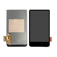 Дисплей HTC A9191 (Desire HD) с сенсорным экраном (черный)