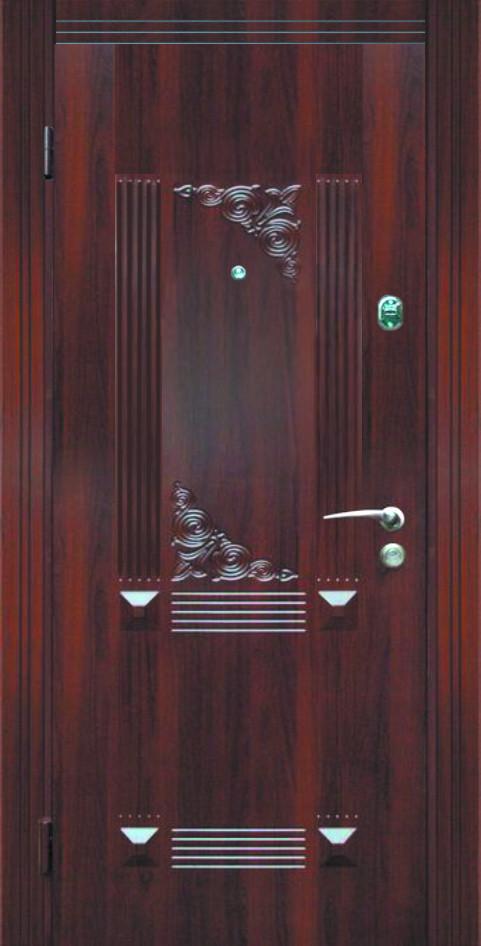 Двері металеві, протиударні