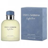 "Dolce & Gabbana ""Light Blue Pour Homme"" 125 мл туалетная вода туалетная водаl туалетная вода  Мужская парфюмерия"