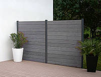 Забор RenWood (1 секция с 2 столбиками)