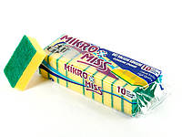 Губка для мытья посуды Top Pack® 10шт/уп