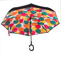 Зонт нового поколения с разноцветным рисунком