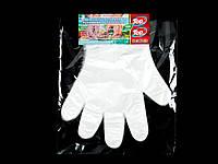 Перчатки одноразовые полиэтиленовые Top Pack® 100шт/уп