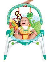 Кресло-качеля Bright Starts Зоопарк
