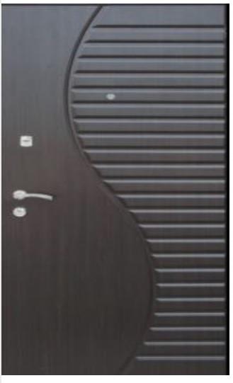Двері вхідні з мдф накладками