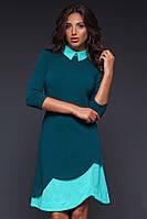 """Элегантное женское платье средней длины 493 """"Трикотаж Волна"""""""