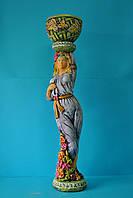Подставка для цветов ( nlv Девушка весна)