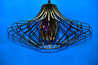 Люстра подвесная на 1 лампочку (ВЛ)  L330/1 (BK)