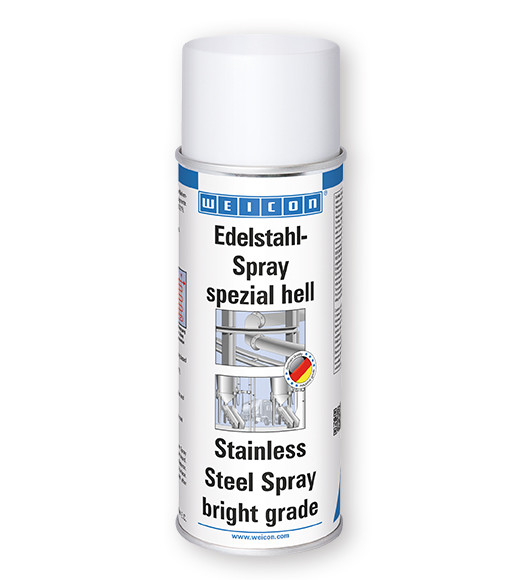 Спрей  нержавеющая сталь (светлый)-  WEICON Stainless Steel Spray(bright grade)