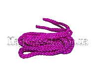 Скакалка для художественной гимнастики 3 м. Фиолетовая.