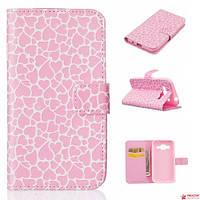 "Чехол Книжка Для Samsung Galaxy Core Prime G360/G361Bruno ""Pink"""
