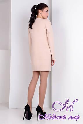 Женское весеннее кашемировое пальто (р. S, M, L) арт. Лав лайт 9760, фото 2