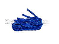 Скакалка для художественной гимнастики 3 м. Синяя.
