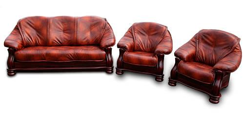 Комплект кожаный CABALERO (3р+1+1)