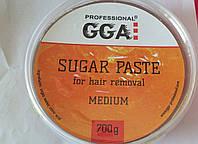 """Паста для шугарінга """"GGA"""", 700 гр Medium"""
