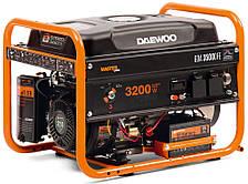 Газ-бензиновый генератор Daewoo GDA 3500DFE (3,2 кВт, стартер)