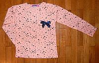 Детский реглан для девочки Звездочка персик 2 лет. , фото 1