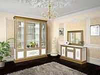 Гостиная Белладжио белая вариант №1  (Світ Меблів TM)