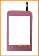 Сенсор (тачскрин) Samsung C3300 Champ Pink Original