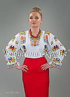 Заготовка Борщівської жіночої сорочки для вишивки нитками/бісером БС-85