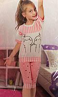 Качественная летняя пижама для девочки