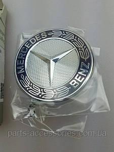 Эмблема значок на решетку радиатора Mercedes CLS CLS-Class W218 2011-2017 Новая Оригинальная