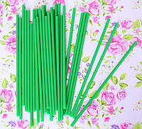 Палочки для кейк-попсов (зеленые), 50 шт.