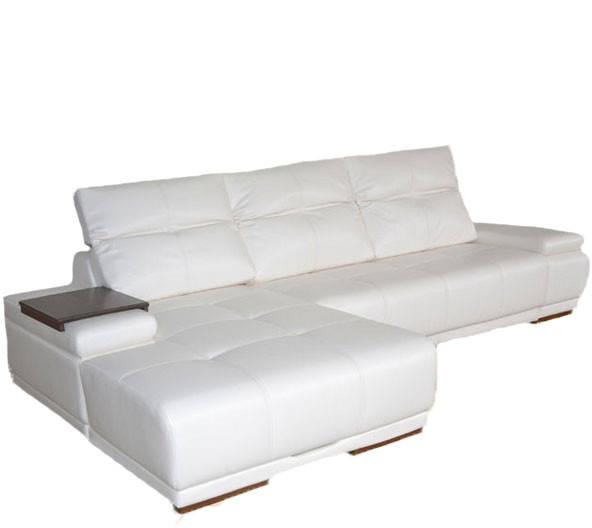 """Кожаный угловой диван """"Ливиньо"""" (335см-185см)"""