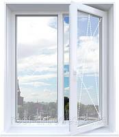 Окно металлопластиковое 1300*1400 Rehau'60
