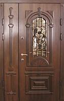 Двери входные металлические полуторные Елит клас