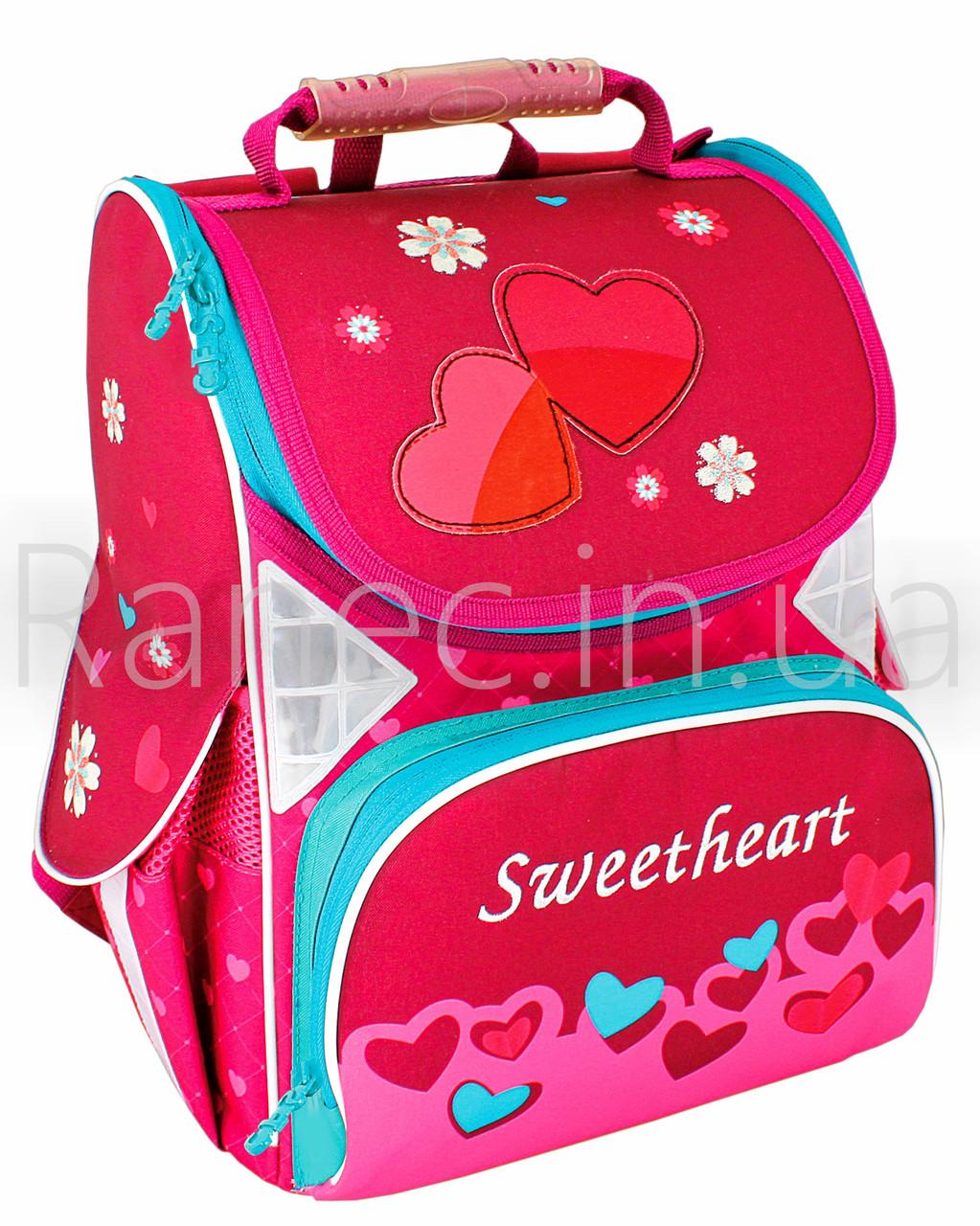 """Ранец школьный каркасний 13,4"""", """"Sweetheart"""" 701  CF85813"""