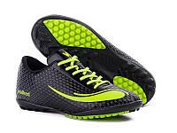 Сороконожки подростковые Nike Mercurial Walked черные  (найк меркуриал)