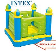 """Надувной детский батут """"Маленький замок"""" Intex 48257"""