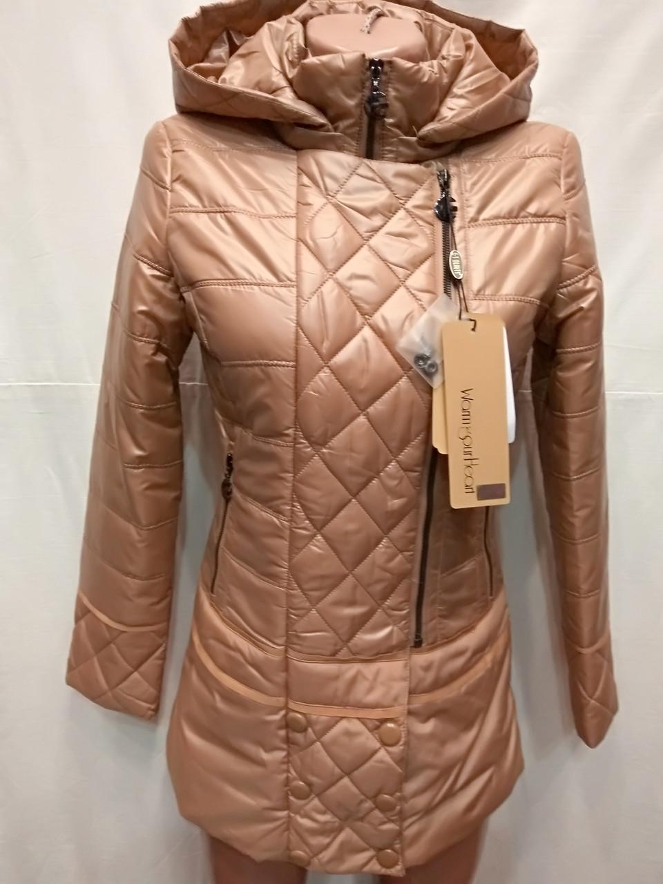Куртка удлиненная весна-осень Beautty ,(модель 18-59))