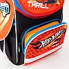 Рюкзак шкільний каркасний (ранець) Kait 501 Hot Wheels-2, фото 6