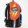 Рюкзак шкільний каркасний (ранець) Kait 501 Hot Wheels-2, фото 8