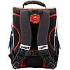 Рюкзак шкільний каркасний (ранець) Kait 501 Hot Wheels-2, фото 3