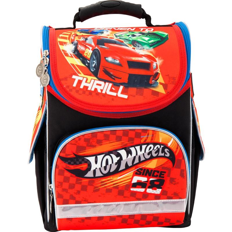 Рюкзак шкільний каркасний (ранець) Kait 501 Hot Wheels-2