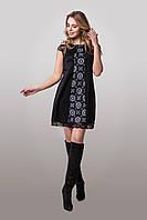 Яркое и незабываемое платье из плотного и эластичного дайвинга