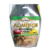 Яблочные ломтики (без добавок) 100г