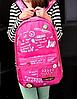Яркий городской портфель с надписями, фото 3