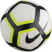 Детский футбольный мяч Nike Team Strike Soccer Ball - White/Volt/Black