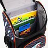Рюкзак шкільний каркасний (ранець) Kait 501 Hot Wheels-3, фото 5