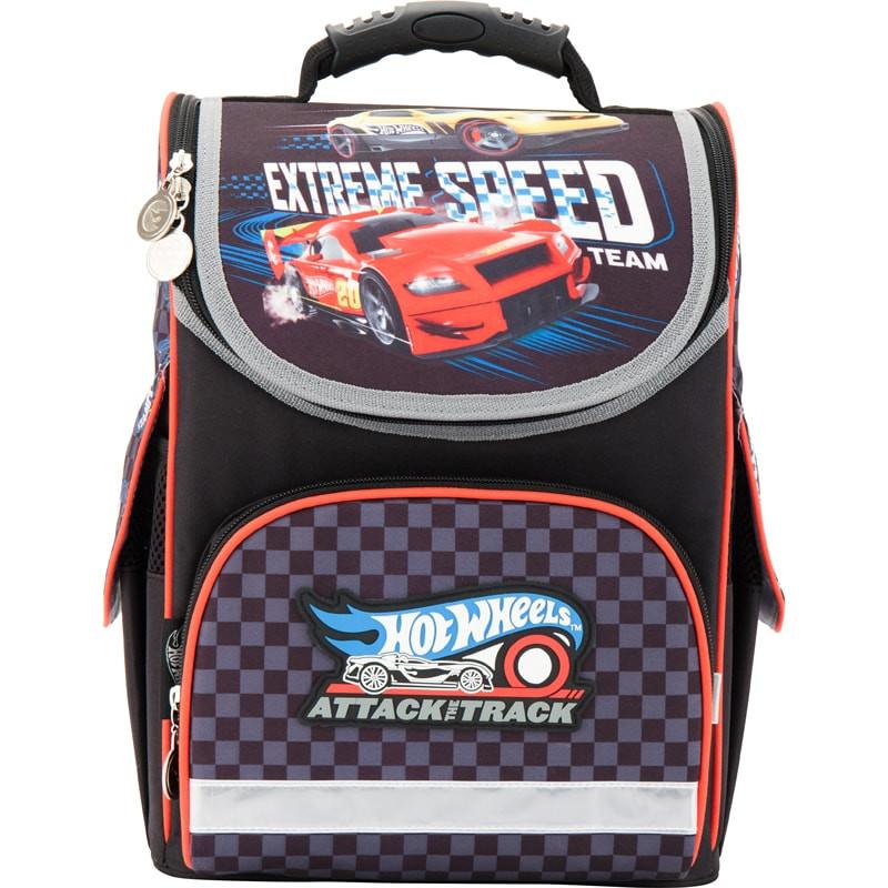 Рюкзак шкільний каркасний (ранець) Kait 501 Hot Wheels-3